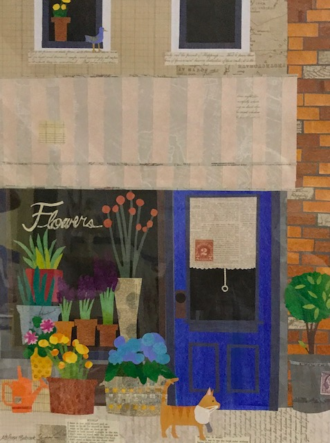Flower Shop15 x 19   cut paper