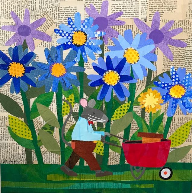 16 x 16 Collage  Melissa Babcock Saylor