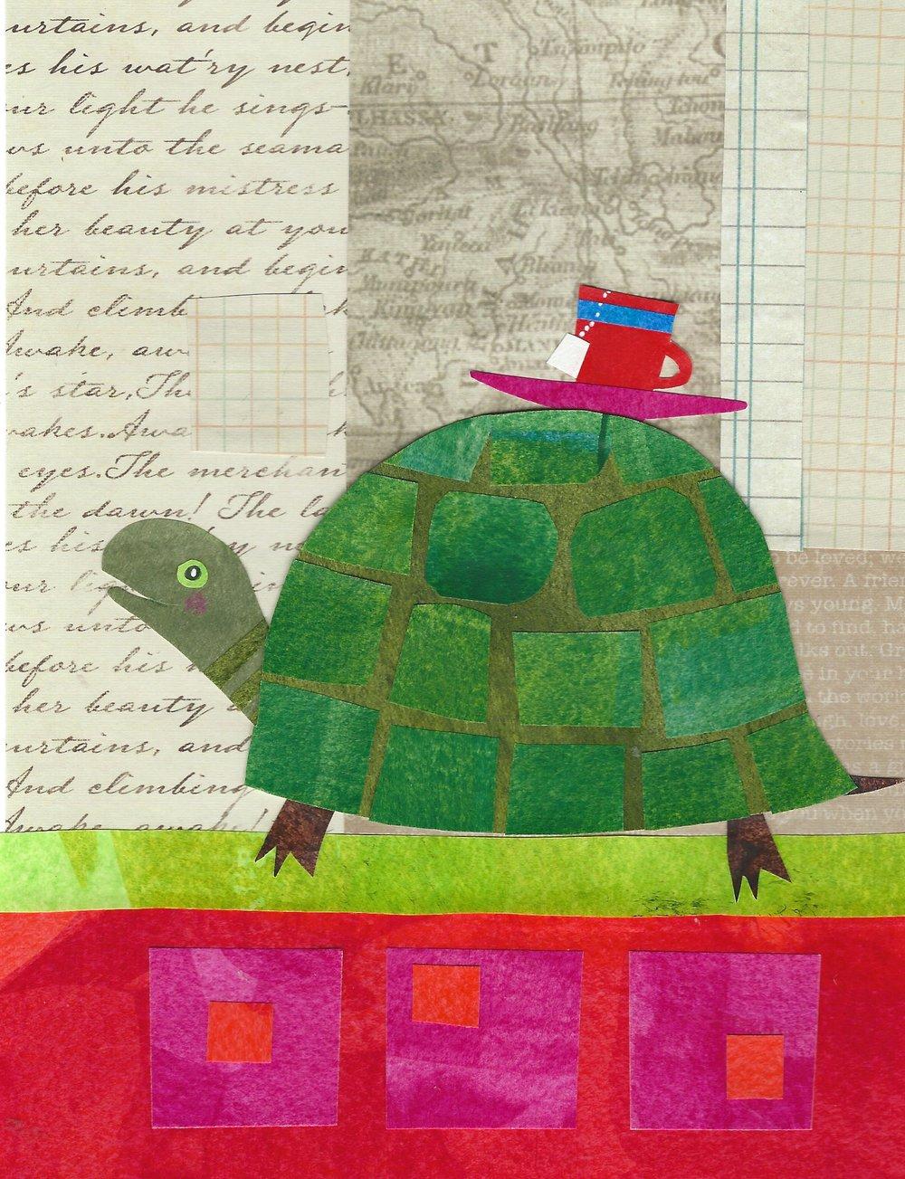 """""""Turtle"""" Cut Paper 5x7"""