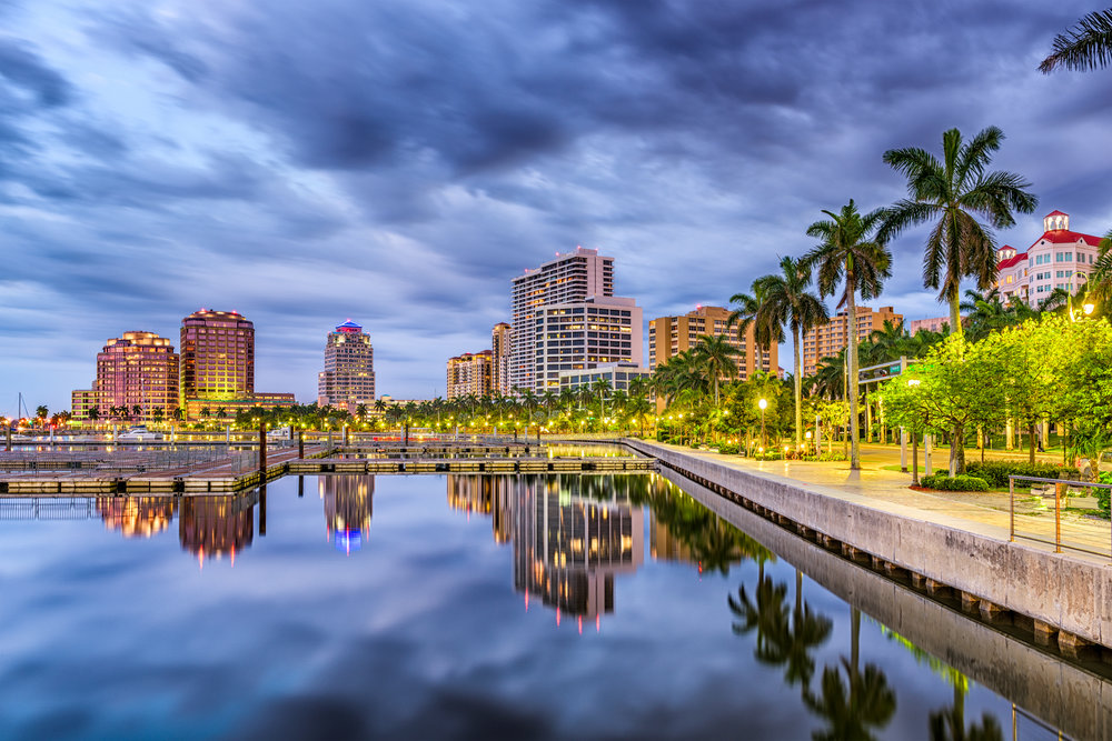 Information provided from:  Discover The Palm Beaches