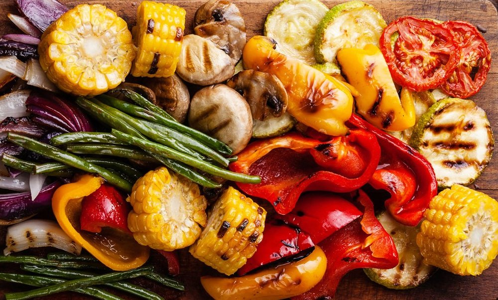 Grilled Vegetables   http://simplehomeentertaining.com/grilled-vegetables