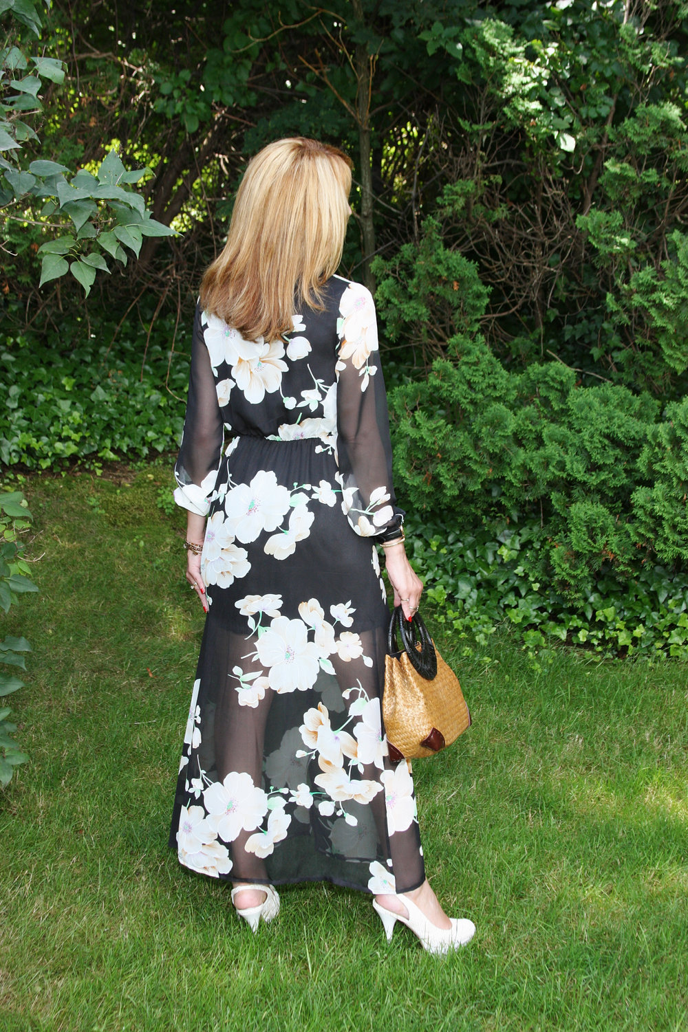 Find the Chiffon Floral Dress  here .