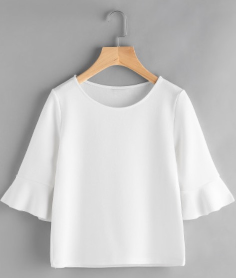 Find this elegant version of a basic white t-shirt  here .