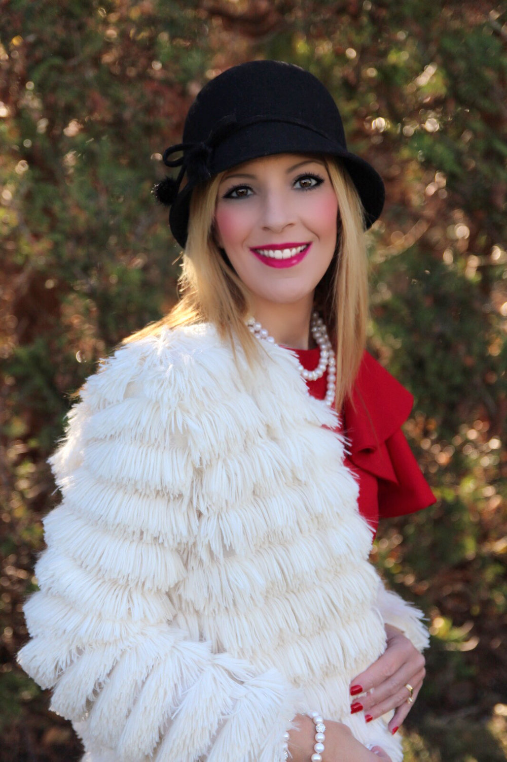 193b086310 I recently shared gorgeous Shein dresses I'm wearing for various holiday  parties/events on and then found awesome accessories from Shein which I put  ...