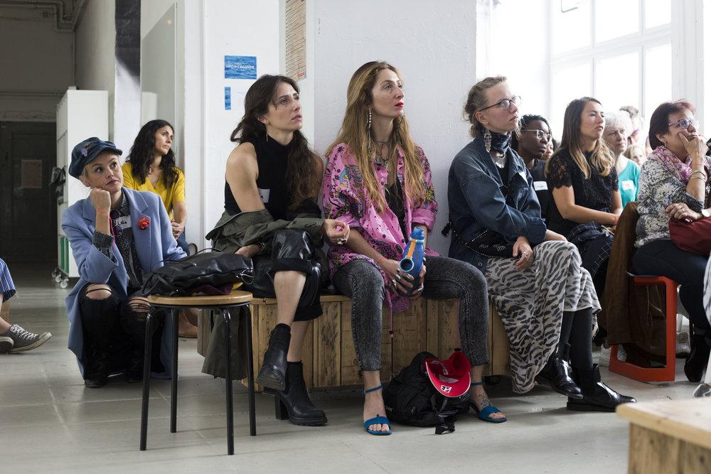 International Salon. - Talks championing #PowerGuide women world wide.