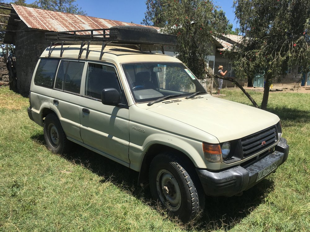 THIS PAJERO HAS SERVED US WELL