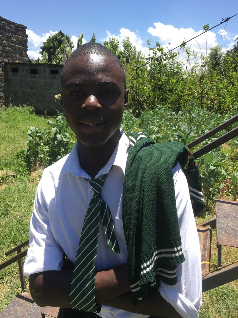 Victor hopre to study physics in college