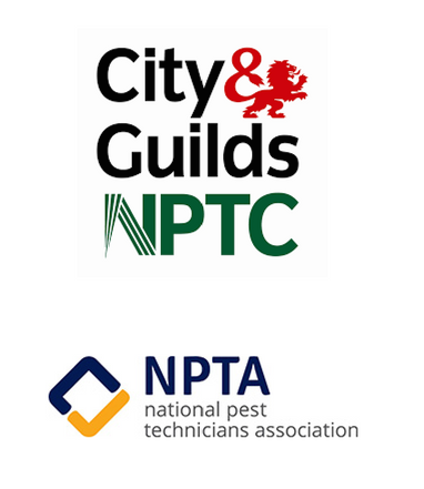 NPTA National Pest Control Association, City & Guilds Qualifications for PEst COntrol