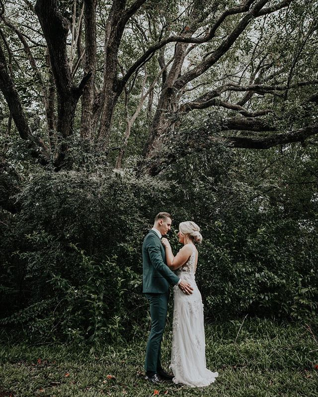 Jake + Dakkota. Married at Byron bay today in the rain. Magical 💫