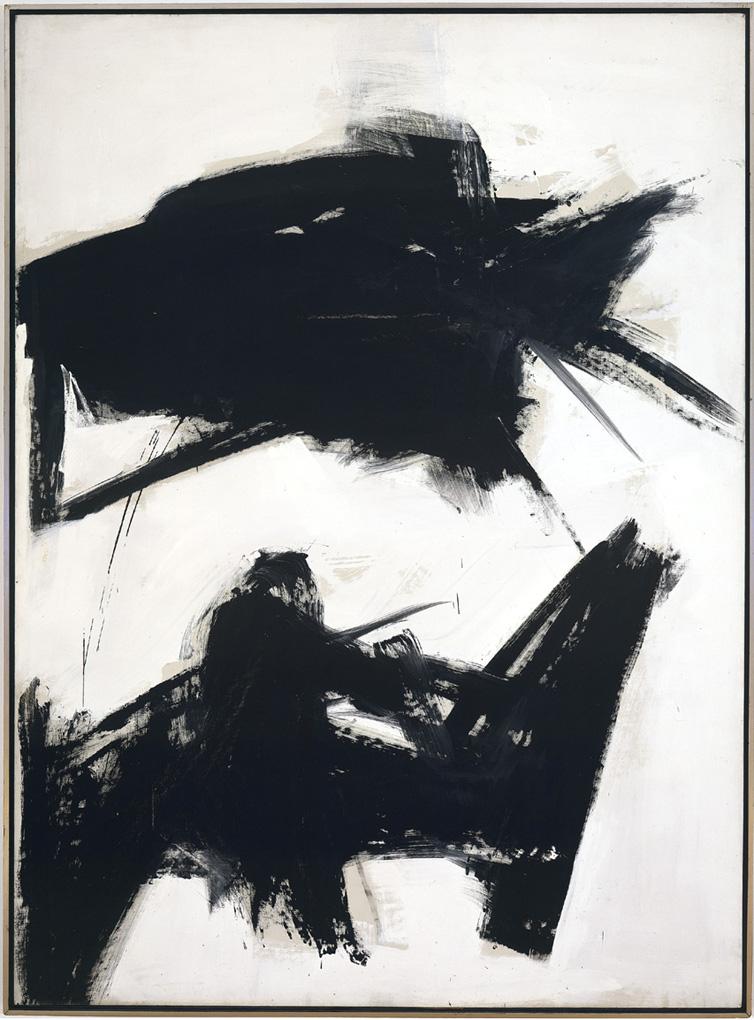 Black Sienna - Franz Kline (1960)