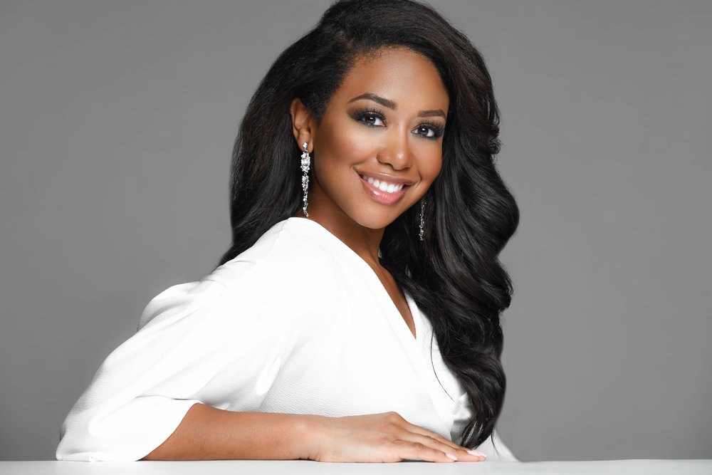 Jasmine Jones Founder Cherry Blossom Intimates Black Beauty Queen Miss District of Columbia USA