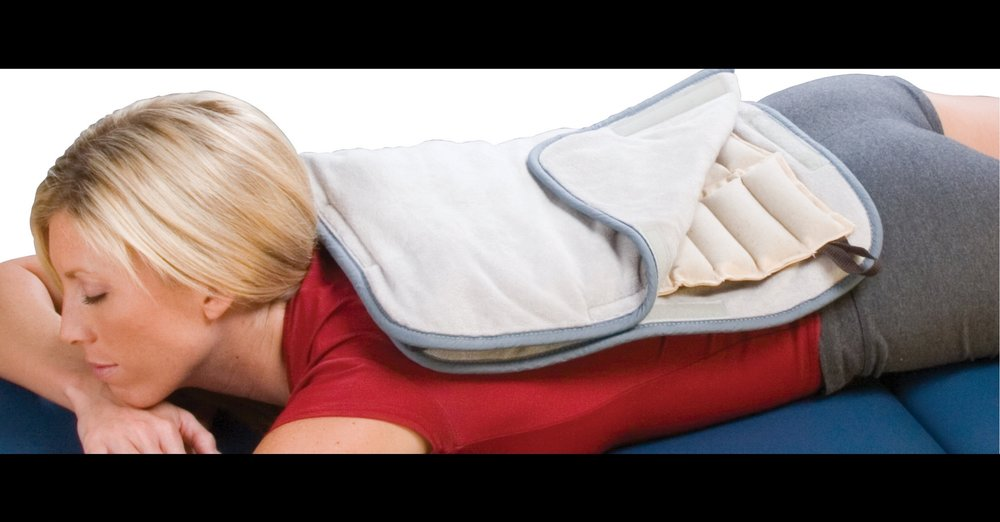 Hot Pack Therapy to Relax the Body Before Treatment