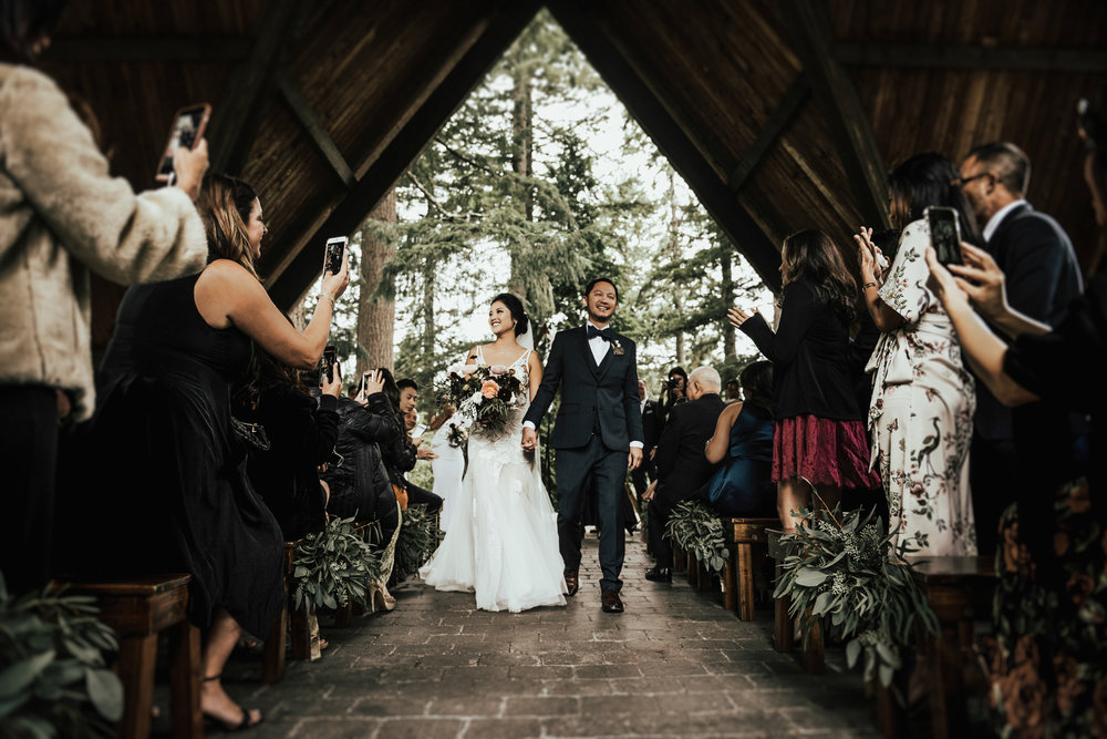 Woodsy Portland Wedding