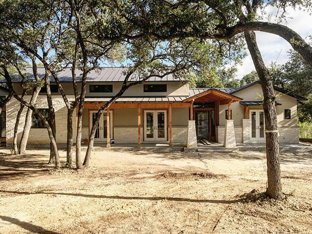 Hill Country Residence nearing completion!