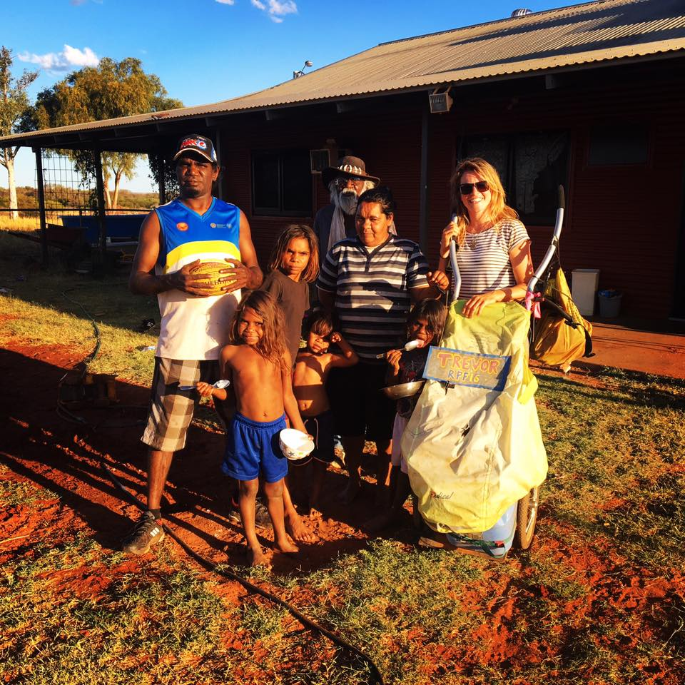 Staying with Maria and her family in Jigalong