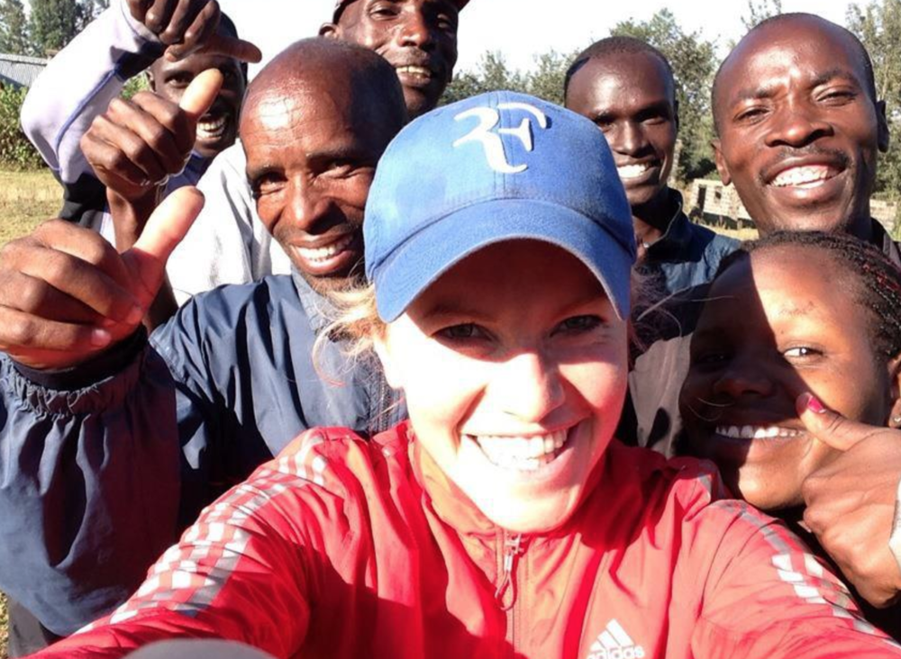 Running with Kenyans