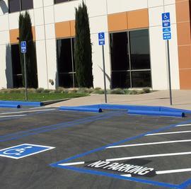 Disabled Parking Stalls