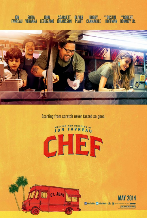 CHEF: featuring Robert Downey and Scarlett Johansson (15) - Date: Wednesday 7 JuneScreening: 7:30pmLaunch Night