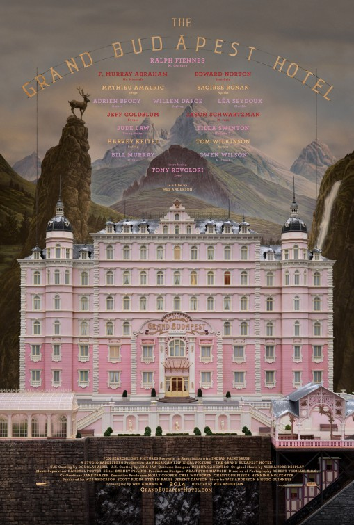 The Grand Budapest Hotel (15) - Date: Tuesday 13 JuneScreening: 8pm