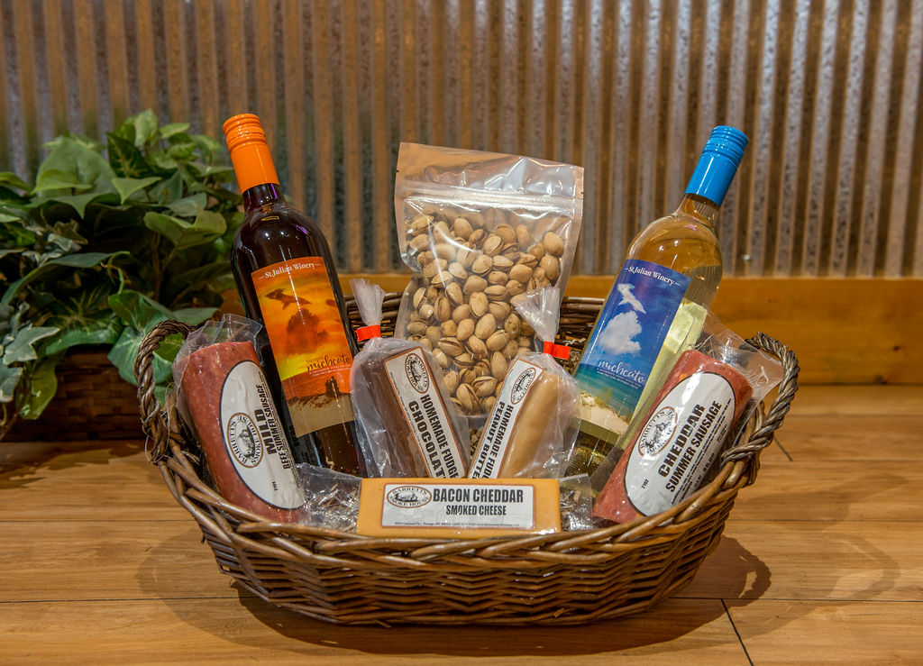 Smoked Cheese/ Sausage Products & Gift Baskets