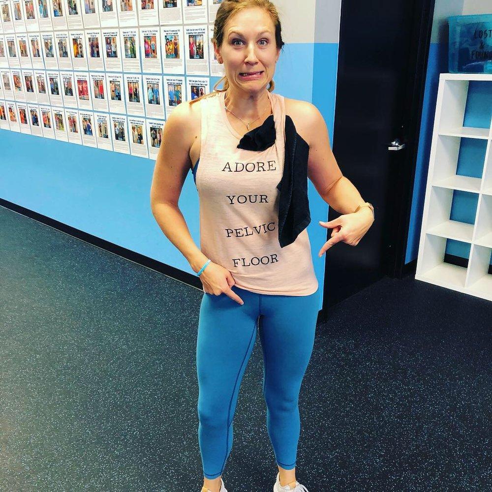 It's sweat…not pee…on arm day