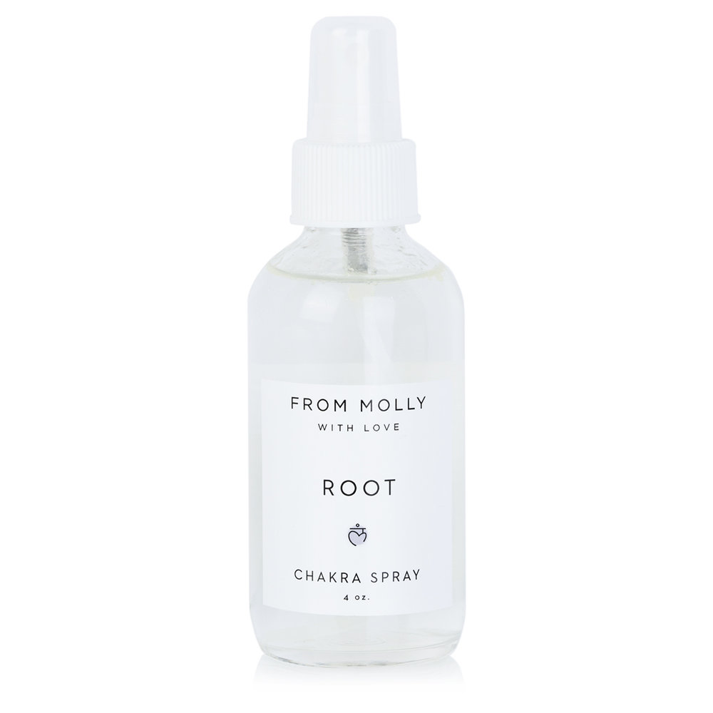 FROM MOLLY WITH LOVE  - ROOT CHAKRA SPRAY  $18