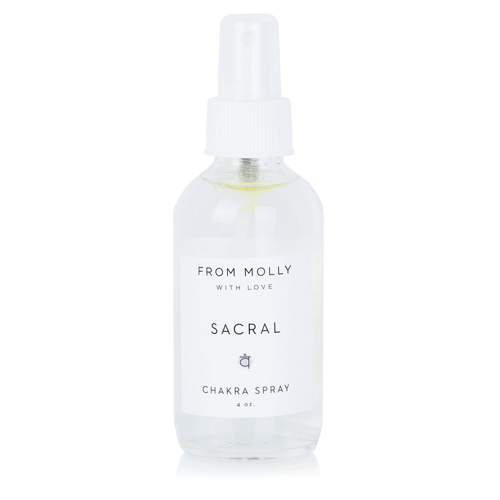 FROM MOLLY WITH LOVE  - SACRAL CHAKRA SPRAY  $18