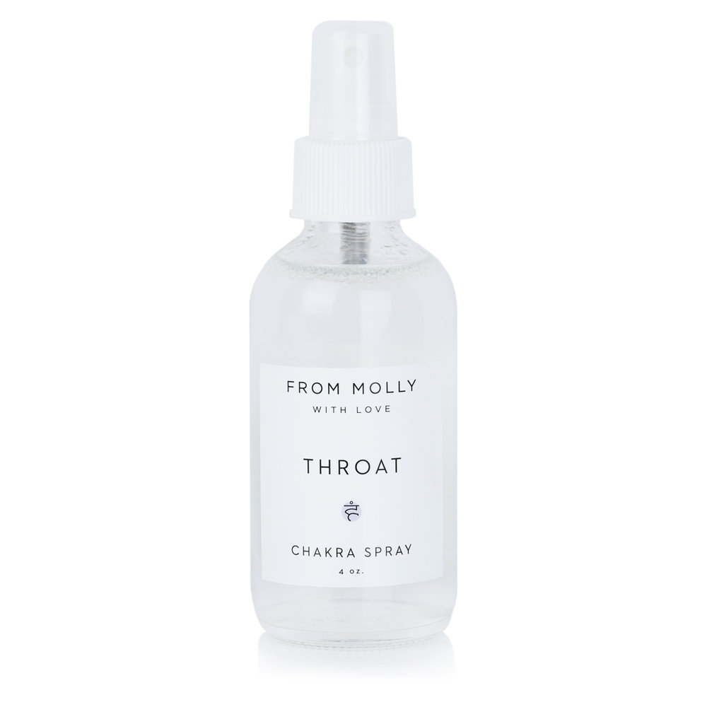 FROM MOLLY WITH LOVE  - THROAT CHAKRA SPRAY  $18