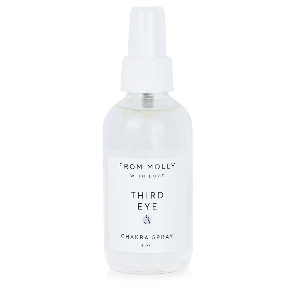 FROM MOLLY WITH LOVE  - THIRD EYE CHAKRA SPRAY  $18