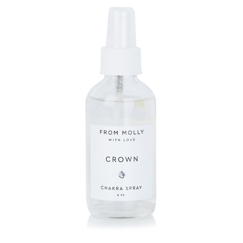 FROM MOLLY WITH LOVE  - CROWN CHAKRA SPRAY  $18