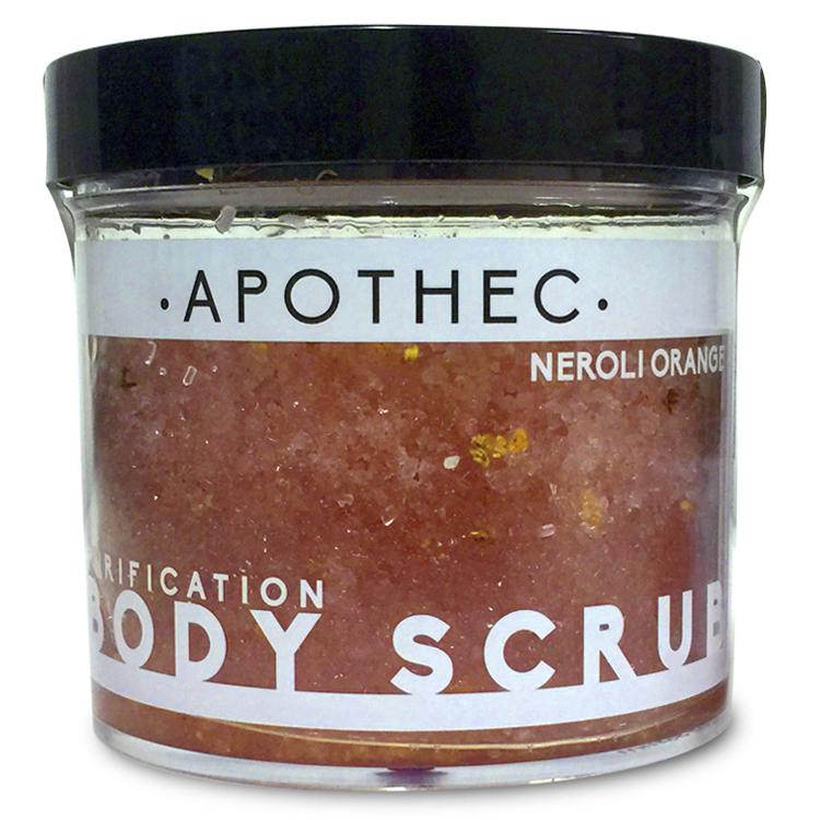 APOTHEC  -NEROLI ORANGE BODY SCRUB  $34
