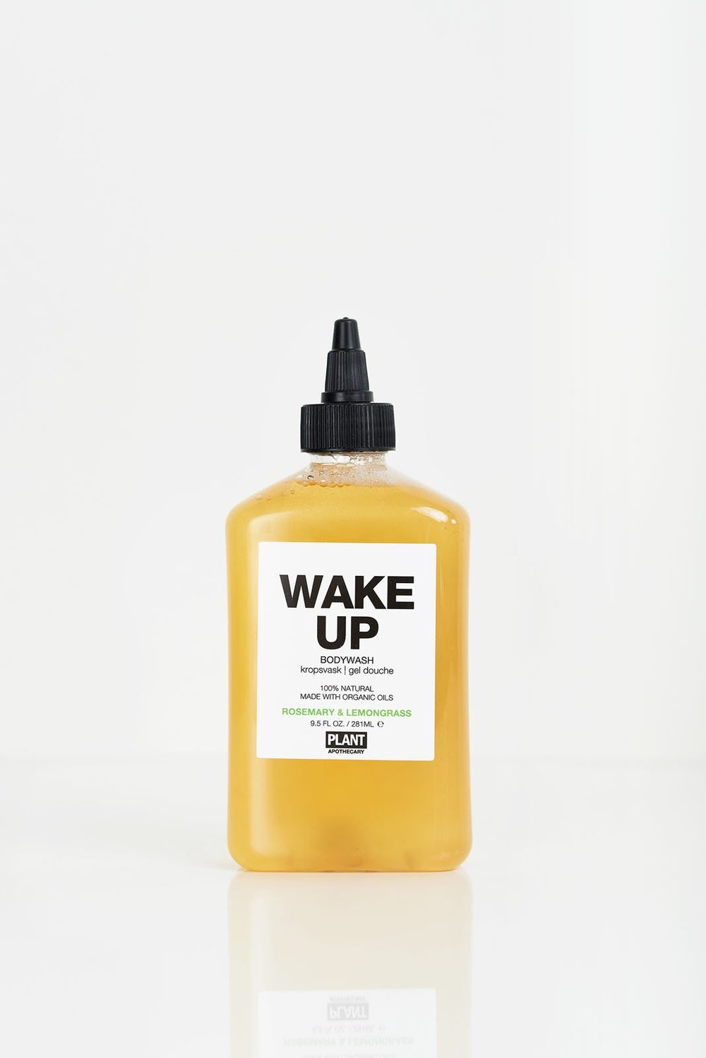 PLANT  - ROSEMARY + LEMONGRASS ORGANIC BODY WASH  $20