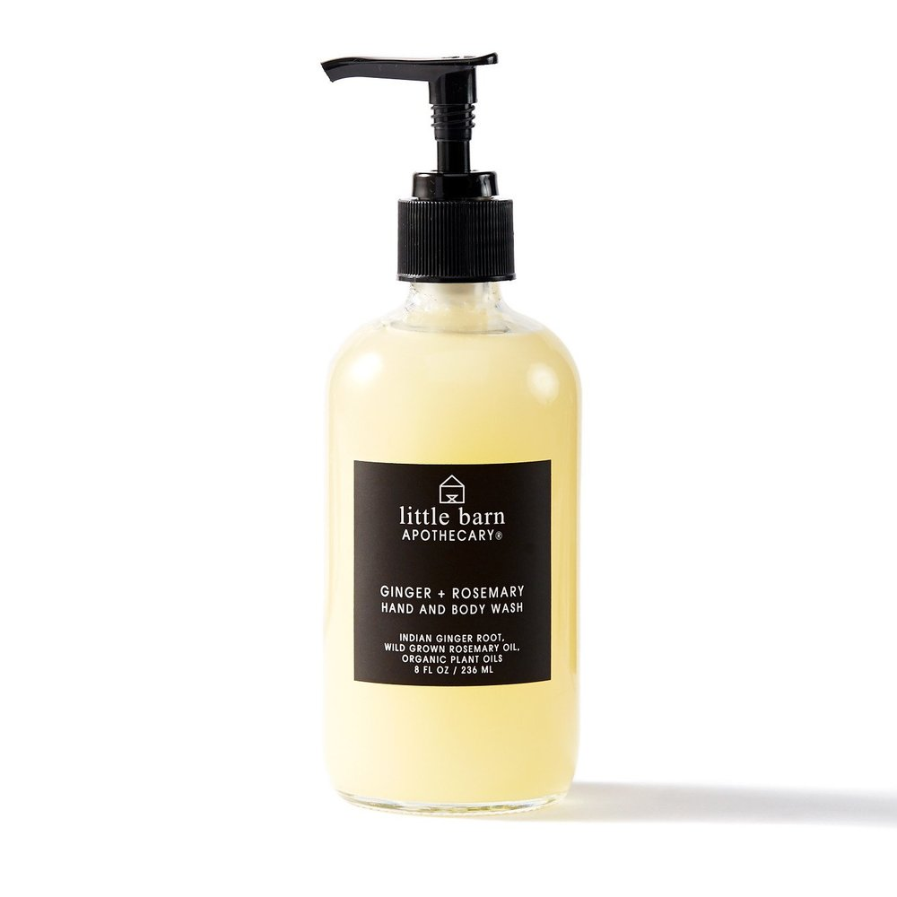LITTLE BARN  - GINGER + ROSEMARY HAND AND BODY WASH   $16