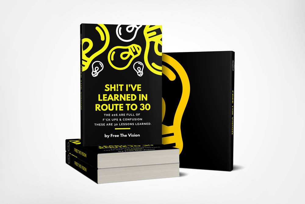 Sh!t I've Learned In Route to 30! E-BooK   - I'm officially 30! Here's a lesson guide on how I got here.