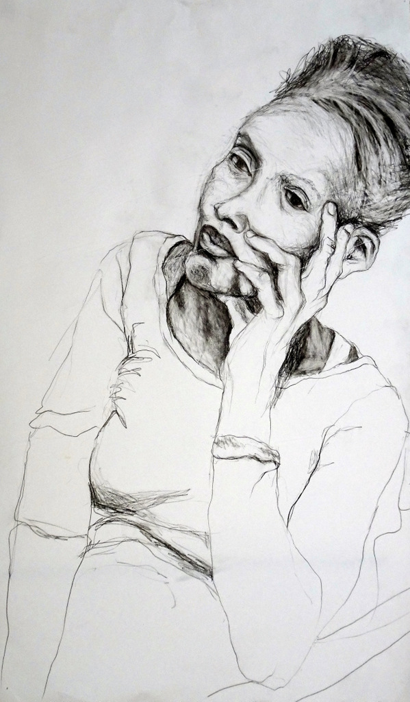 Angela Marcus, Fine Art Drawing, Black Mountain, NC-006.JPG