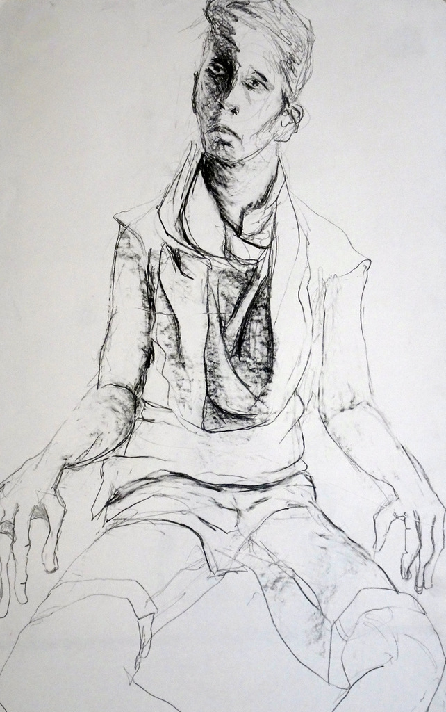 Angela Marcus, Fine Art Drawing, Black Mountain, NC-010.JPG