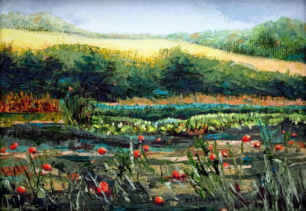 Martha Raines, Oil Painting, Black Mountain, NC-001.jpg
