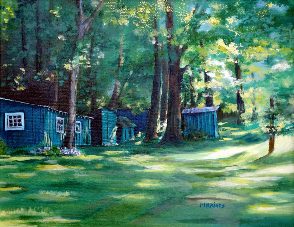 Martha Raines, Oil Painting, Black Mountain, NC-004.JPG