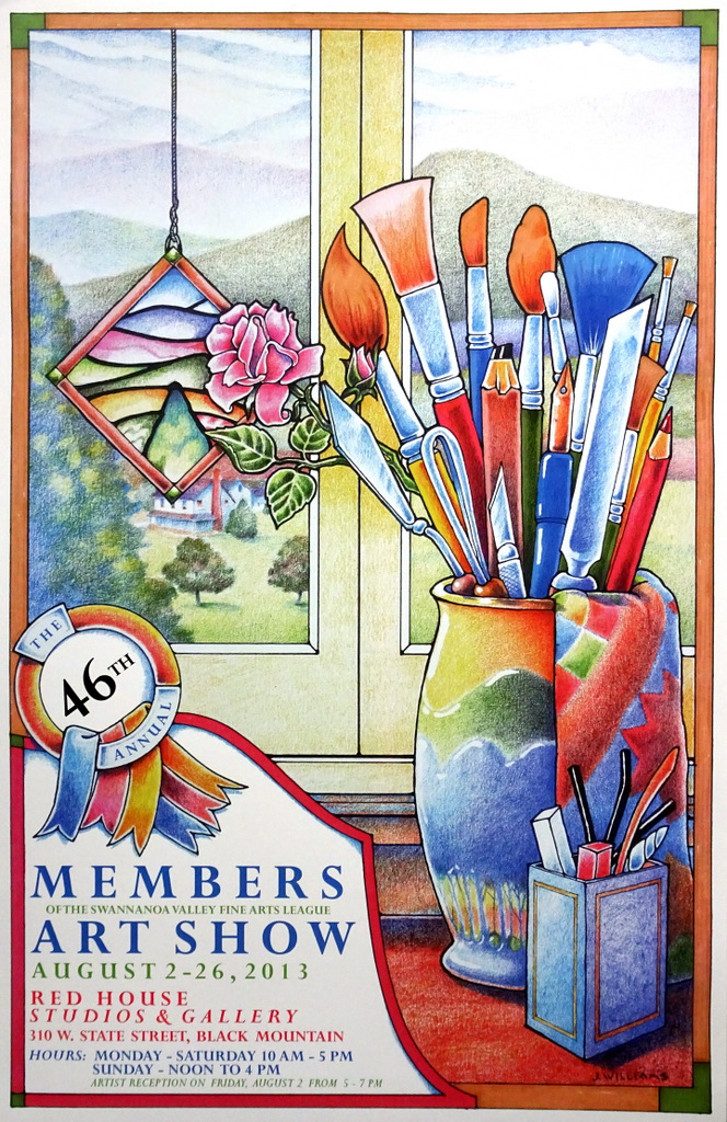Jack Williams, Watercolor Paintings, Poster Illustrations, SVFAL, Asheville, NC-017.JPG