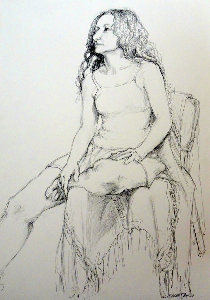 Figure Drawing, The Red House