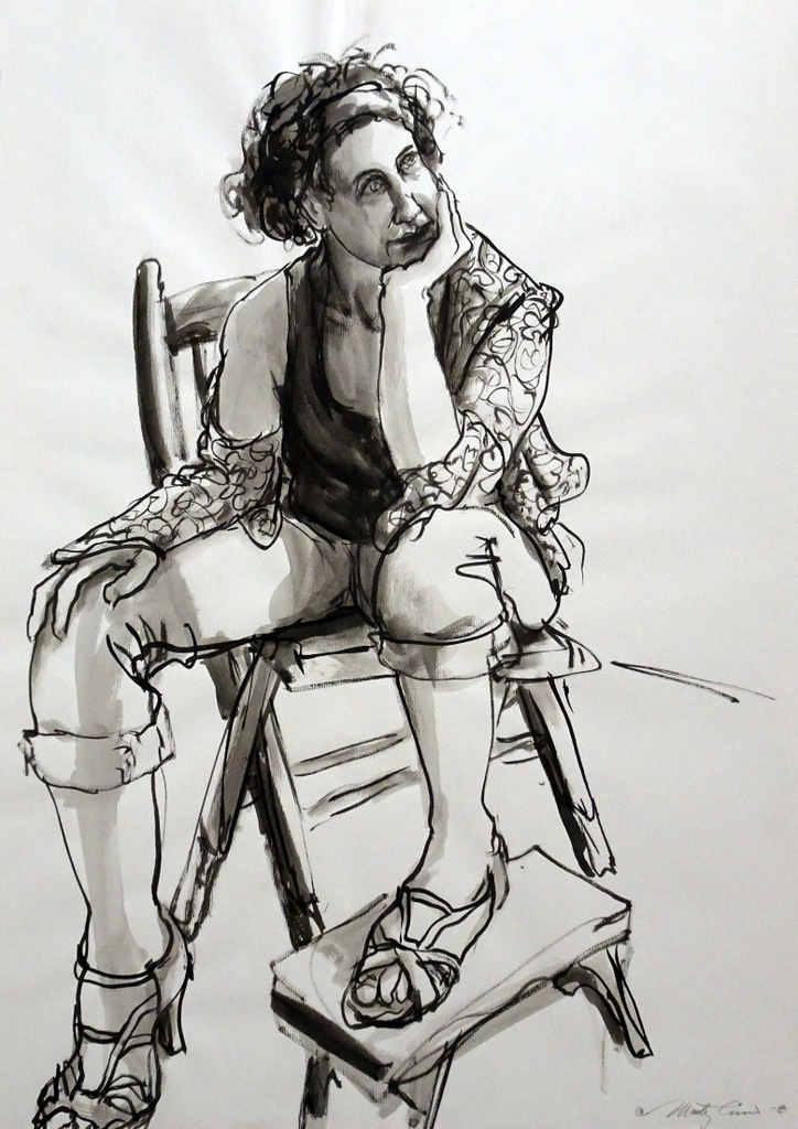Life Drawing, Black Mountain