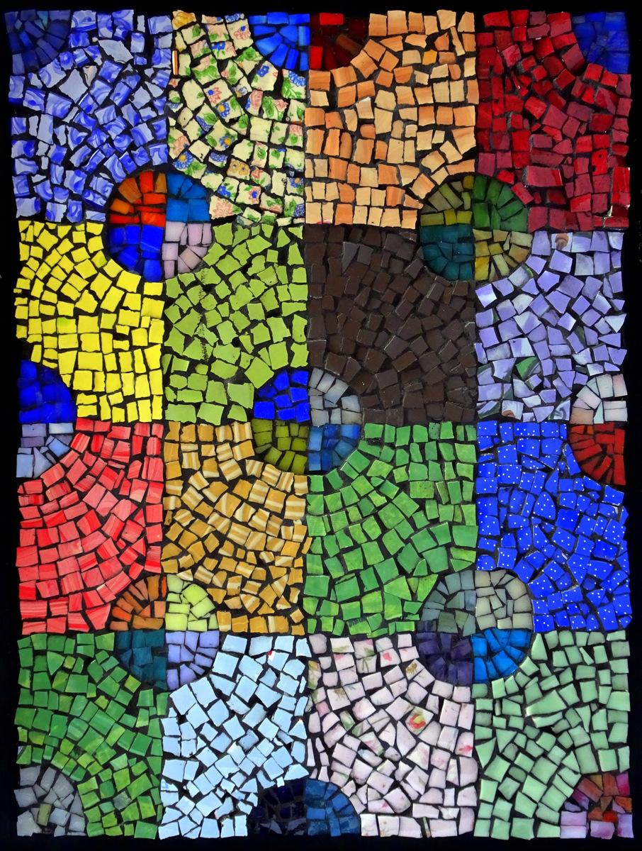 Pat Austin, Mosaic Wall Pieces, SVFAL-006.JPG