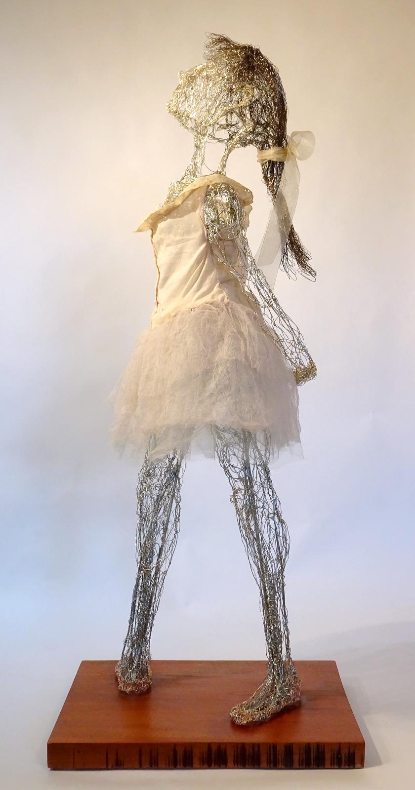 Lois Steele, Wire Sculpture, Fine Art, SVFAL-009.JPG