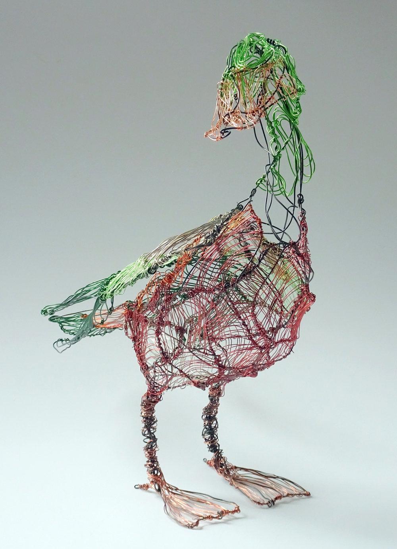 Lois Steele, Wire Sculpture, Fine Art, SVFAL-008.JPG