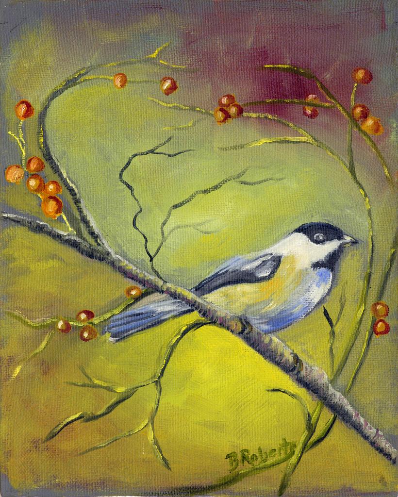 04-Bobbie Roberts, Bird Oil Painting, Black Mountain NC-003.jpg