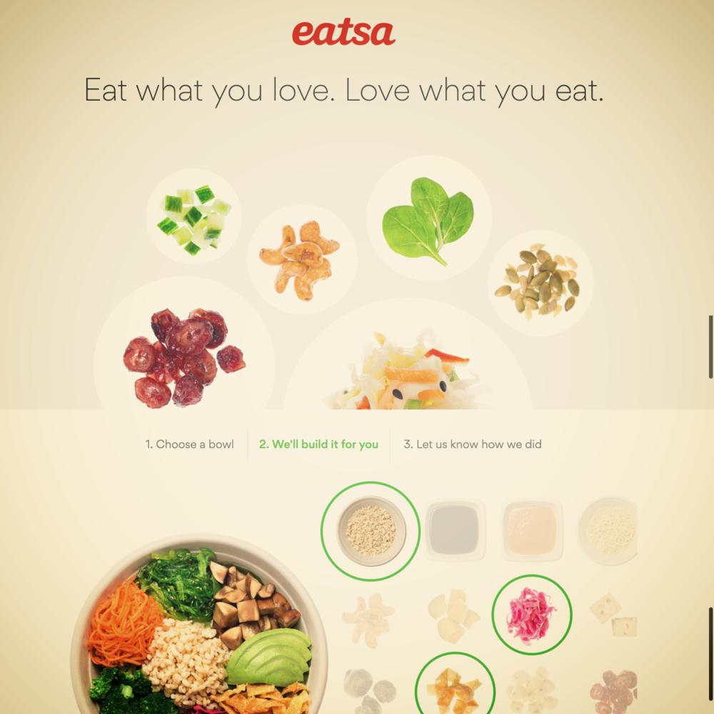 Campaign Development - eatsa, B2C Startup