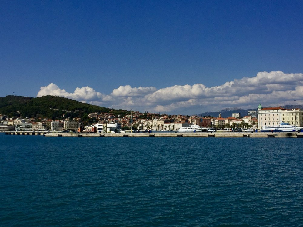 Arriving in Split