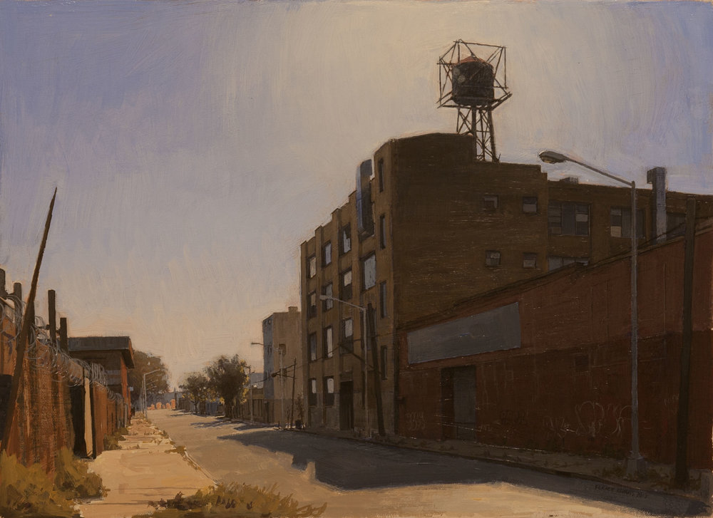 "Third Ward  Acrylic 11""x14"""