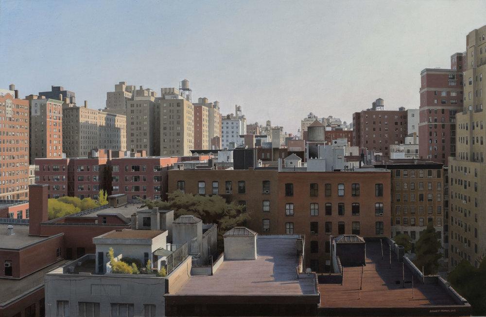 "Upper West Side Balcony  Acrylic 20""x30"""