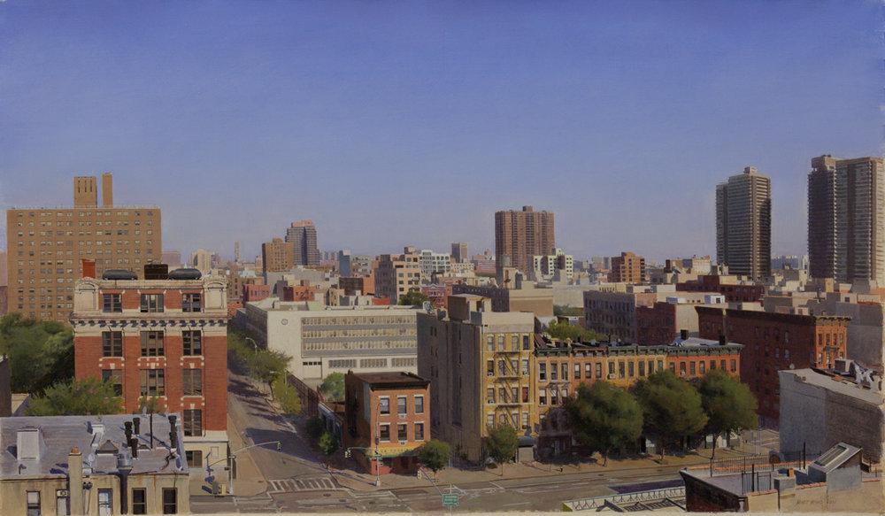 "East Harlem  Acrylic 19""x30"""